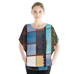 Glass Facade Colorful Architecture Blouse