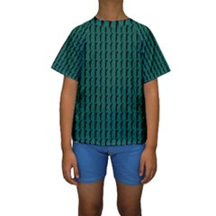 Golf Golfer Background Silhouette Kids  Short Sleeve Swimwear