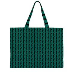 Golf Golfer Background Silhouette Large Tote Bag