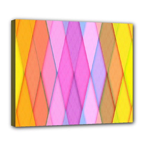 Graphics Colorful Color Wallpaper Deluxe Canvas 24  X 20