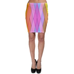 Graphics Colorful Color Wallpaper Bodycon Skirt