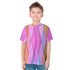 Graphics Colorful Color Wallpaper Kids  Cotton Tee