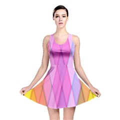 Graphics Colorful Color Wallpaper Reversible Skater Dress