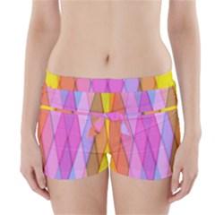 Graphics Colorful Color Wallpaper Boyleg Bikini Wrap Bottoms