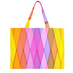 Graphics Colorful Color Wallpaper Large Tote Bag