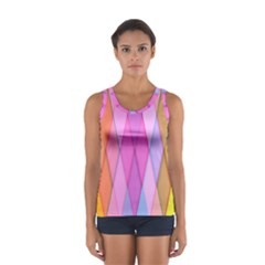 Graphics Colorful Color Wallpaper Women s Sport Tank Top