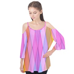 Graphics Colorful Color Wallpaper Flutter Tees