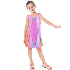 Graphics Colorful Color Wallpaper Kids  Sleeveless Dress