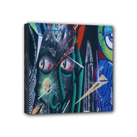Graffiti Art Urban Design Paint Mini Canvas 4  x 4