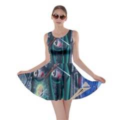 Graffiti Art Urban Design Paint Skater Dress