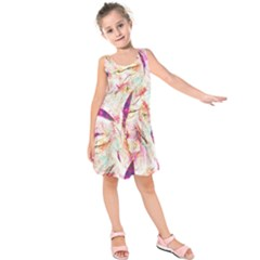 Grass Blades Kids  Sleeveless Dress