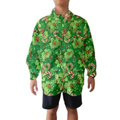 Green Holly Wind Breaker (Kids)
