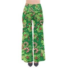 Green Holly Pants