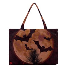Halloween Card Scrapbook Page Medium Tote Bag