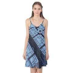 Grid Maths Geometry Design Pattern Camis Nightgown