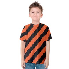 Halloween Background Kids  Cotton Tee