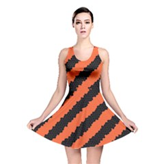 Halloween Background Reversible Skater Dress