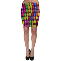 Happy Balloons Bodycon Skirt