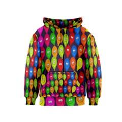 Happy Balloons Kids  Zipper Hoodie
