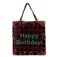 Happy Birthday! Grocery Tote Bag