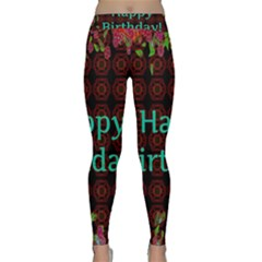 Happy Birthday! Classic Yoga Leggings