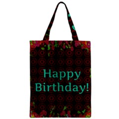 Happy Birthday! Zipper Classic Tote Bag
