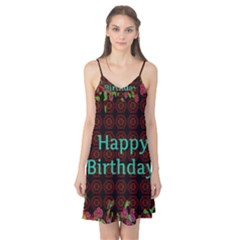 Happy Birthday! Camis Nightgown