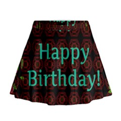 Happy Birthday! Mini Flare Skirt