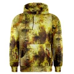 Grunge Texture Retro Design Men s Pullover Hoodie