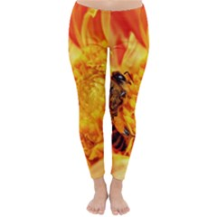 Honey Bee Takes Nectar Classic Winter Leggings