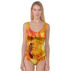 Honey Bee Takes Nectar Princess Tank Leotard