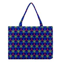 Honeycomb Fractal Art Medium Tote Bag