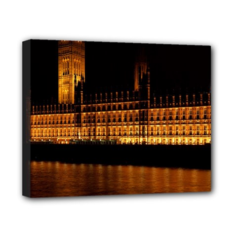 Houses Of Parliament Canvas 10  x 8