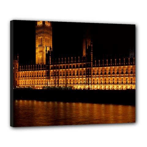 Houses Of Parliament Canvas 20  x 16