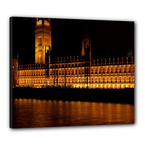 Houses Of Parliament Canvas 24  x 20