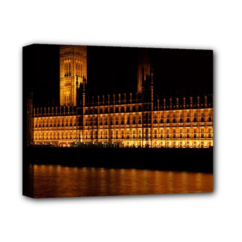 Houses Of Parliament Deluxe Canvas 14  x 11