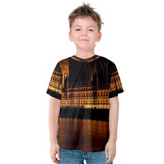 Houses Of Parliament Kids  Cotton Tee