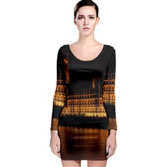 Houses Of Parliament Long Sleeve Bodycon Dress