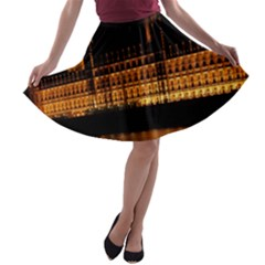 Houses Of Parliament A-line Skater Skirt