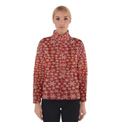 Holiday Snow Snowflakes Red Winterwear