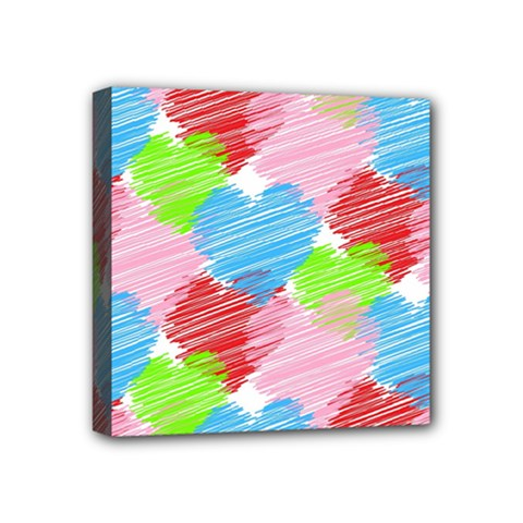 Holidays Occasions Valentine Mini Canvas 4  x 4