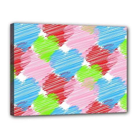 Holidays Occasions Valentine Canvas 16  X 12