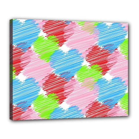 Holidays Occasions Valentine Canvas 20  x 16
