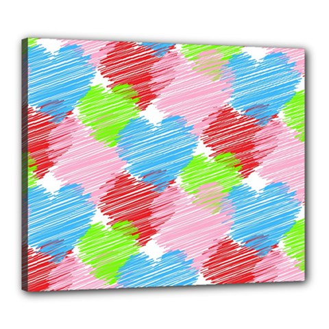 Holidays Occasions Valentine Canvas 24  X 20