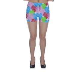 Holidays Occasions Valentine Skinny Shorts