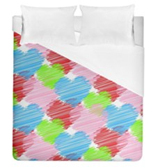 Holidays Occasions Valentine Duvet Cover (queen Size)