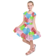 Holidays Occasions Valentine Kids  Short Sleeve Dress