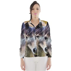 Horse Horse Portrait Animal Wind Breaker (Women)