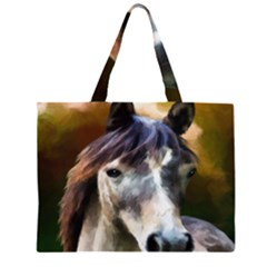 Horse Horse Portrait Animal Large Tote Bag