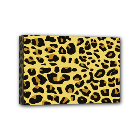 Jaguar Fur Mini Canvas 6  x 4